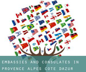 Embassies and Consulates in Provence-Alpes-Côte d'Azur