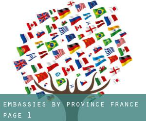 Embassies by Province (France) - page 1
