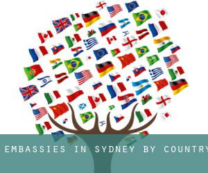 Embassies in Sydney by Country